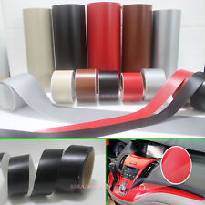 DIY Matte Leather Decal Textured Vinyl Sticker Tape for Car Phone House Wrap CB
