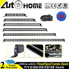 """Ultra Slim Barra de luz LED 12"""" 20"""" Lámpara de conducción para Jeep Off Road SUV"""