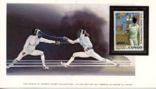 WORLD OF SPORT / MONDE DU SPORT / L'ESCRIME / FENCING / CONGO