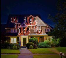 Nfl Team Pride Cincinnati Bengals Glow Bright Led Projector Light