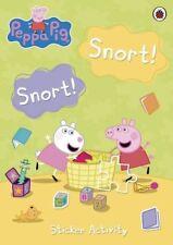 Peppa Pig: Snort! Snort! Sticker Activity Book, Ladybird, New Book
