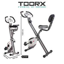 TOORX BRX COMPACT Cyclette magnetica salvaspazio con supporto per smartphone