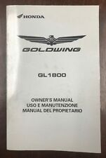 2006 HONDA GOLDWING GL1800 MOTORCYCLE OWNERS MANUAL -ENGLISH-SPANISH-ITALIAN