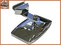 Stainless Steel Clip on Overtaking 1/4 Light Mirror Fits MGB, MG MIDGET