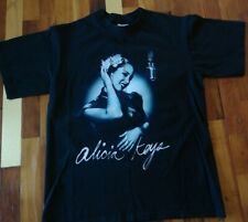 Alicia Keys 2005 Diary Tour Shirt Black Small