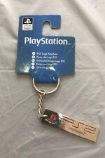 Official PlayStation 2 PS2 Logo Keychain / Keyring