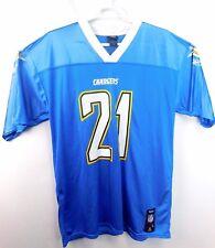 LADAINIAN TOMLINSON Team Apparel Reebok NFL Chargers Jersey Size L Mens - #21