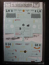 1/72  VINTAGE MICROSCALE DECALS N°141 AS AMERICANS WWII  DECALCOMANIE