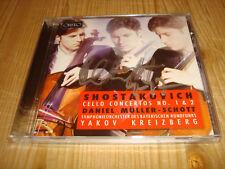 DANIEL MÜLLER-SCHOTT Shostakovich Cello Concertos 1 & 2 ORFEO CD Signed Signiert