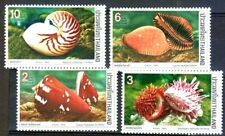 Thailand 1989 @ Sea Shells @  Stamp set MNH
