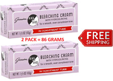 BLACK AND WHITE BLEACHING CREAM 1.5 OZ ( 2 TUBES = 3OZ ) with HYDROQUINONE