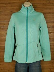 Spyder Core Light Blue Full Zip Sweater Womens Size Medium M