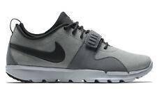 Nike SB Air Trainer 1 Mid Strap Men's Shoes, Size 8 - Cargo Khaki/Metallic Cool Grey