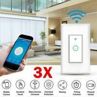 3 Packs Smart WiFi Light Wall APP Control For Alexa Use Google N0A1