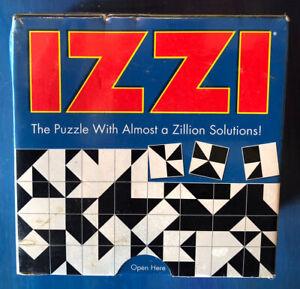 Think Fun IZZI PUZZLE Builds Thinking Skills NEW SEALED Brain Arts Matching