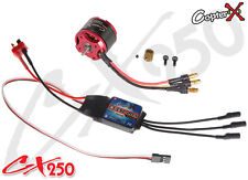 CopterX CX250-10-07 3400KV Brushless Motor 20A ESC for RC Trex 250 Helicopters