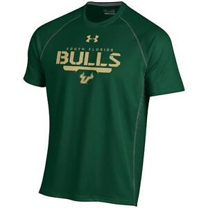 """South Florida Bulls Under Armour NCAA """"Curl Route"""" Performance S/S Shirt"""