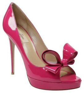 Authentic Valentino Shoes Pink Bow Heels Shoes