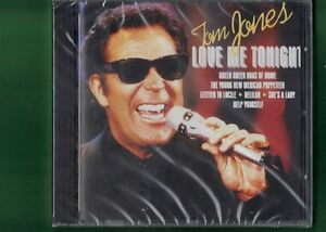 TOM JONES - LOVE ME TONIGHT  CD NUOVO SIGILLATO