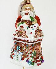 Christopher Radko Grand Ginger Sweets Ornament NEW