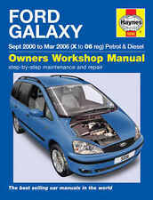 Ford Galaxy Repair Manual Haynes Manual  Workshop Service Manual  2000-2006 5556