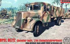 Roden - Opel Blitz DAIMLER/Mercedes L701 Einheitsfahrerhaus Model Kit 1:72