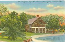 DELAND, FLORIDA SUGAR MILL/ PONCE DE LEON SPRINGS LINEN ERA (JL3-233)