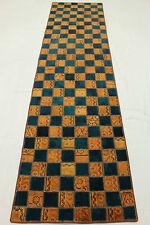 Orientteppich modern blau  Wohnraum-Teppiche mit Patchwork-Muster in aktuellem Design aus 100 ...