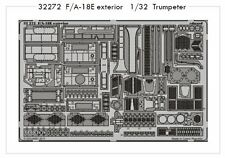Eduard 1/32 F/A-18E Super Hornet Exterior for Trumpeter kit # 32272