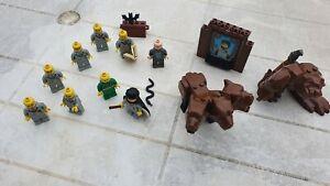 LEGO Harry Potter - 9 minifigurines, animaux et accessoires autour de l'univers