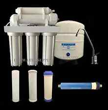 Water Filter System Reverse Osmosis Filtration Drinking Home RO 100 gpd