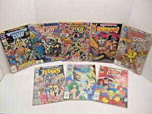 DC Comics Armageddon 2001 Assorted Comic Book Issues Lot of 8