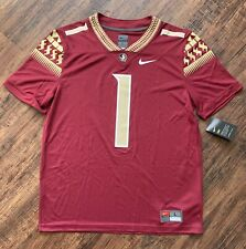 NWT Nike FSU Florida State Seminoles Size Large Football Game Jersey - $100