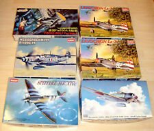 Konvolut Plastmodellbau Militärflugzeuge Academy Hasegawa Dragon 1:48