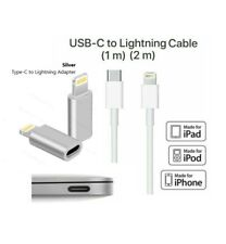 USB-C 3.1 Type C to 8pin Lightning Data Cable Charger Adapter For iPhone Macbook