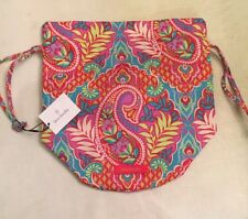 Vera Bradley Mini Ditty Paisley in Paradise 21266-379 Travel Beach Cosmetic Sack