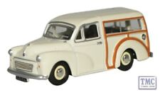 76MMT001 Oxford Diecast OO Gauge Morris Minor Traveller Old English White