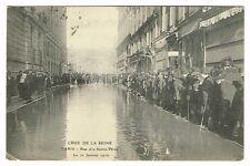 Feb 10 1910 FRANCE Crue De La Seine Flood Paris Real Photo
