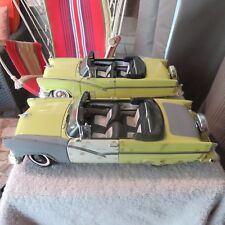 1956 FORD SUNLINER,ERTL,1:18 SCALE DIE CAST CONVERTIBLE RESTORED, UNRESTORED