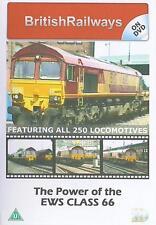 Power of EWS Class 66 Dvd: Winconsin Transportation BR Millbrook Garsdale Didcot