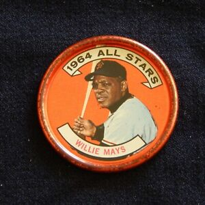 1964 WILLIE MAYS TOPPS BASEBALL COINS #151