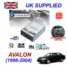 para TOYOTA AVALON MP3 SD USB CD Entrada Auxiliar Adaptador de audio Cambiador