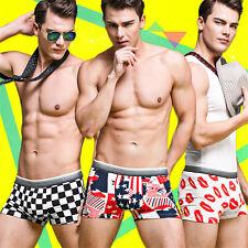 Cartoon men boy Sexy Modal Boxer Briefs Underwear Men's Underwear Boxer Shorts