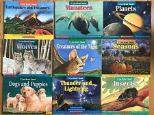 Lot 9 Scholastic I CAN READ ABOUT  Books Earthquakes Volcanoes Planets Science