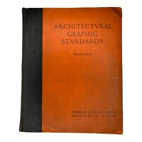 Architectural Graphic Standards Third Edition 6th Printing 1944 Ramsey & Sleeper