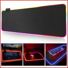 Gaming Mousepad Keyboard Mouse Pad RGB Colorful Razer Mouse Pads Gel Cushion