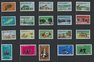 G746 Anguilla / A Small Collection Early & Modern Lhm