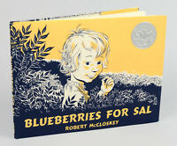 Blueberries for Sal by Robert McCloskey (1976, Paperback)