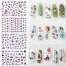 Christmas Snowflake 3D Nail Stickers Nail Art Transfer Decals Decoration Tips