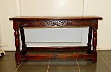 Large Oak Bench Settle Pew Storage St Helens City Of London Synagogue 1838 Big Clearance Sale Antique Furniture Edwardian (1901-1910)